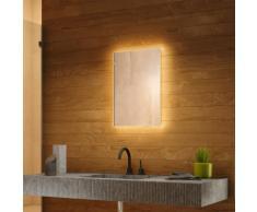 Miroir de Salle de Bain Rétro-Éclairé Blanc Chaud avec Bluetooth k700BLaudWW - Couleur LED :