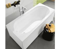 Baignoire Villeroy and Boch Quaryl rectangulaire Oberon Solo, UBQ160OBE2V 1600x750mm, pieds de