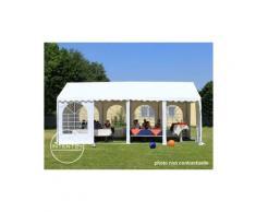 INTENT24 4x6m tente de réception, PVC env. 550g/m², H. 2m, vert foncé