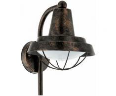 Lampe d'extérieur vintage lampe d'extérieur antique appliques de jardin extérieur, optique cage