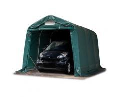 Tente-garage carport 2,4 x 3,6 m d'élevage abri agricole tente de stockage bâche env. 550g/m²