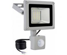 6 PCS 20W Projecteur LED SMD Lampe Extérieure Mit Bewegungsmelder Blanc Froid LLDUK-D4NGPT20W220VX6