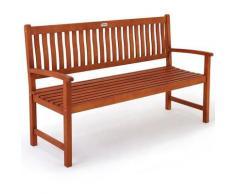 Banc de jardin en bois d'eucalyptus certifié FSC® 152 cm - Siège terrasse Jardin
