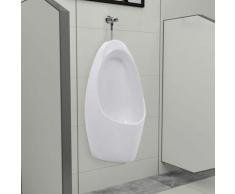 True Deal - Urinoir mural avec système de rinçage Céramique