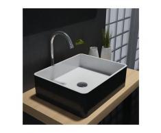 Bernstein - Vasque à poser PB2012B en pierre solide (Solid Stone) – 60 x 40 x15 cm – couleur