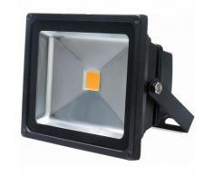 Auralum Projecteur LED 30W IP65 Spot LED 2500-3000LM Éclairage Extérieur et Intérieur Blanc Chaud