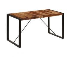 Asupermall - Table de salle a manger 140x70x75 cm Bois de Sesham massif