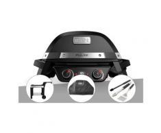 Barbecue électrique Weber Pulse 2000 + Chariot + Housse + Kit ustensiles 3 pièces Better