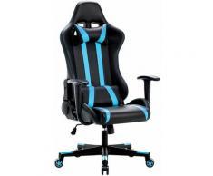 Racing Chaise de Bureau Gamer - Fauteuil Gamer Siège Ergonomique Chaise Gaming Hauteur Réglable