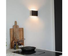 QAZQA otan - Applique murale Moderne - 2 lumière - H 140 mm - Acier - Moderne - Éclairage intérieur