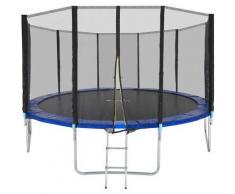 Trampoline Garfunky - trampoline d´extérieur, trampoline de jardin, trampoline enfant - 427 cm