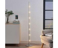 LED Lampadaire à intensité variable 'Margeau' en métal pour salon & salle à manger