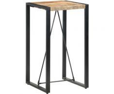 Vidaxl - Table de bar 60x60x110 cm Bois de manguier massif