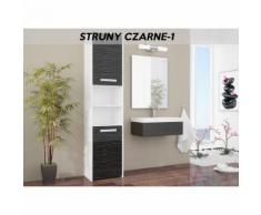 BIBURY W1 | Colonne salle de bain contemporaine 40x30x170 | Rangement salle de bain moderne |