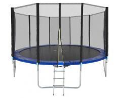 Trampoline Garfunky - trampoline d´extérieur, trampoline de jardin, trampoline enfant - 457 cm