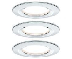 Spot encastrable pour salle de bains Nova 93463 LED Puissance: 19.5 W blanc chaud N/A - Paulmann