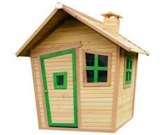 AXI - Alice Playhouse: Maisonnette pour enfants, fenêtres intégrées et bois très résistant