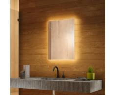 Miroir de Salle de Bain Rétro-Éclairé RGB avec Bluetooth et Capteur k704BL - multi-couleuraud
