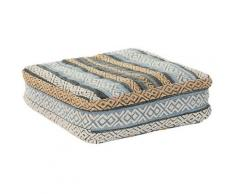 Coussin dkd home decor coton rayures (60 x 60 x 25 cm) - Rogal