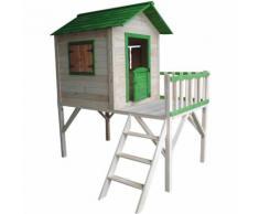 Maisonnette en bois pour enfants Outdoor Toys Funny 188x161x216 cm