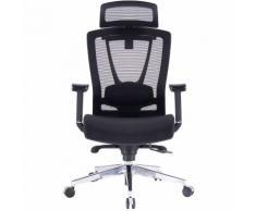 Chaise de bureau pivotante Contract avec appuie-tête