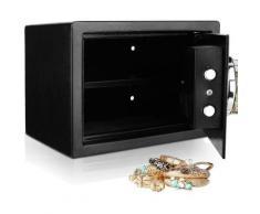 Better Maison - Coffre-fort de sécurité numérique à cristaux liquides 0,57 pieds cubes - Noir
