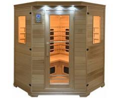 Happy Garden - Sauna infrarouge HELSINKI 4-5 places - Marron