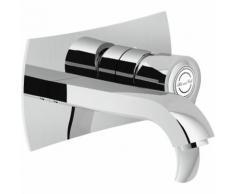 mitigeur lavabo encastrè mural sofì SI98198 | Chromé - 150mm - Nobili