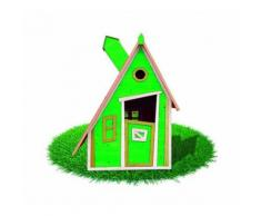 Maisonnette Enfants en Bois Outdoor Toys Peter Pan (Vert) - KSU12878