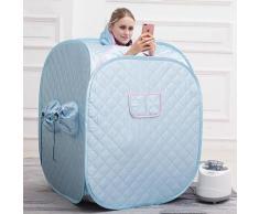 BATHRINS®SPA Sauna PortableCabine de sauna 2.5L pour 2 personnes Bleu