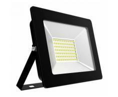 Projecteur LED Black IP65 extérieur 50W 4000 lumens   Blanc froid 6400K