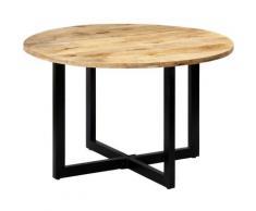 Youthup - Table de salle à manger 120x73 cm Bois de manguier solide