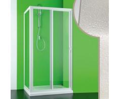Idralite - Cabine douche 70x150 CM en acrylique mod. Mercurio avec ouverture laterale