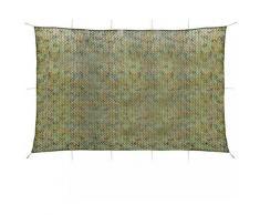 Asupermall - Filet de camouflage avec sac de rangement 6 x 8 m