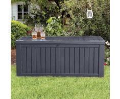 Boîte de rangement de jardin Rockwood 570 L Anthracite - Keter