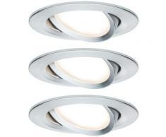 Spot encastrable Paulmann Nova 93487 LED Puissance: 19.5 W blanc chaud N/A