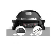Barbecue électrique Weber Pulse 2000 + Housse + Kit ustensiles 3 pièces Better