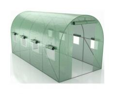 Green Roof - Serre de Jardin Tunnel 8m2 - 4x2m