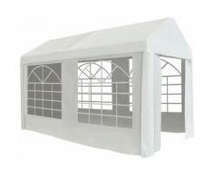 Youthup - Tente de réception PE 2 x 4 m Blanc