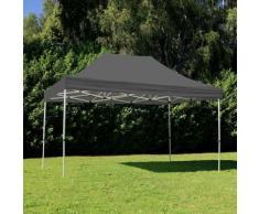 Tente pliante 3x4,5m 300g/m² 40MM Grise