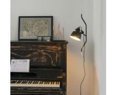 Suspension Moderne à hauteur réglable - noir et doré - Contra Qazqa Moderne Luminaire interieur