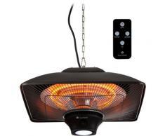 Blumfeldt Heat Square Chauffage infrarouge carbone 3 puissances 2000W max.
