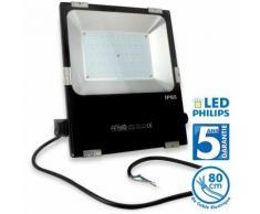 Projecteur LED PRO 50W 4000 Lumens Garantie 5 ans   Blanc froid 6000K
