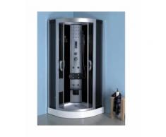 Cabine de Douche MEGISTRI 100x100x215 cm - Dimensions: 100x100cm