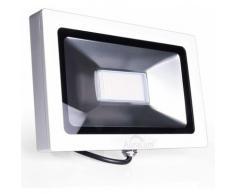 Auralum 50W Projecteur LED Ultraléger Spot LED IP65 3700LM Lumière Extérieur et Intérieur Blanc