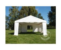 "Tente de réception Original 4x6m PVC, ""Arched"", Blanc"