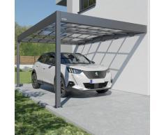Carport adossé aluminium Trigano - LIBECCIO WALL - 16 m²