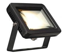 slv 1000292 | slv 1000292 - ardo projecteur extérieur, noir, 10w, led 3000k