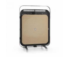 Klarstein HeatPal Marble Blackline Chauffage infrarouge 1300W marbre argent