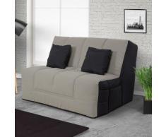 Relaxima - HOUSTON - Banquette Slyde 160 coton gris - matelas Simmons